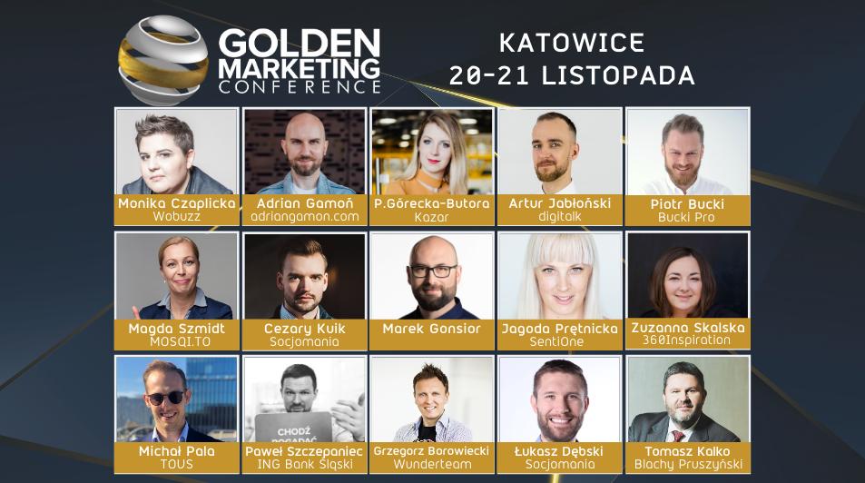Największa konferencja marketingowa na Śląsku- Golden Marketing Conference po raz drugi w Katowicach!