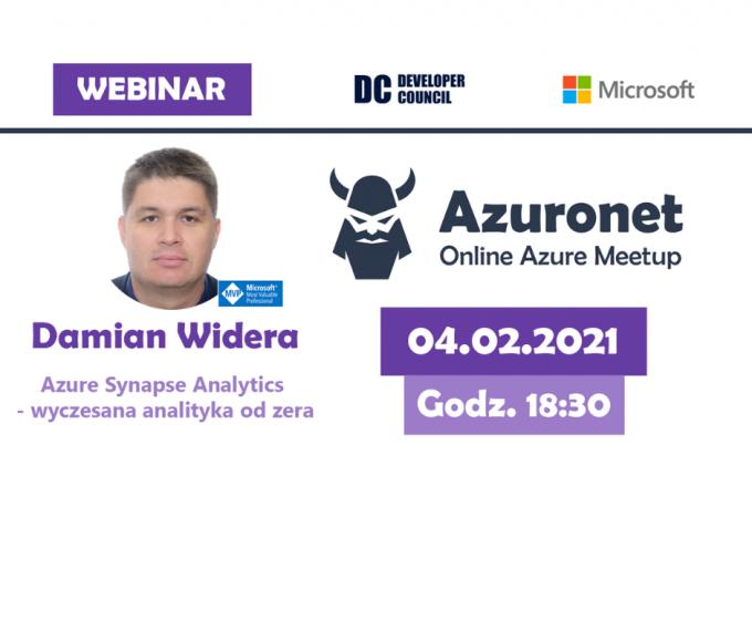 Polska społeczność Azure z kolejnym eventem: Azuronet - Online Azure Meetup #17